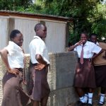 The Water Project: Shiyabo Secondary School -  Finished Latrines