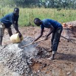 The Water Project: Maganyi Primary School -  Tank Construction