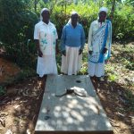 The Water Project: Irenji Community, Shianda Spring -  Sanitation Platform