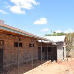 The Water Project: Kyanzasu Secondary School -  Guttering