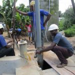The Water Project: Rosint Community, 16 Gilbert Street -  Drilling