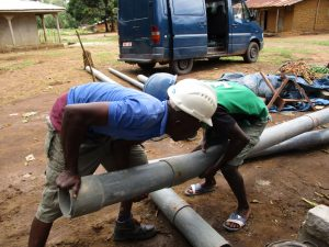 The Water Project:  Hand Drilling
