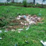 The Water Project: Eshisenye Girls' Secondary School -  Garbage Site