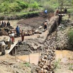 The Water Project: Kithumba Community -  Sand Dam Construction