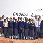 The Water Project: Kyanzasu Secondary School -  Finished Tank