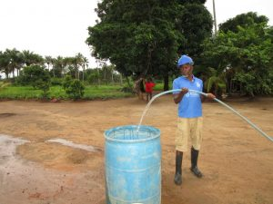 The Water Project:  Yield Test