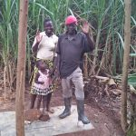 The Water Project: Shitoto Community A -  Finished Sanitation Platform