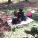 The Water Project: Musango Community A -  Children Outside At Home