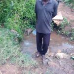 The Water Project: Mwituwa Community, Shikunyi Spring -  Mr Shikunyi