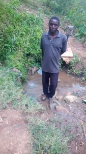 The Water Project:  Mr Shikunyi