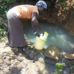 The Water Project: Musango Community C -  Fetching Water