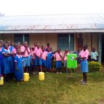 The Water Project: Maganyi Primary School -  Hand Washing Stations