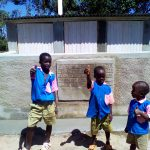 The Water Project: Mudete Primary School -  Finished Latrines