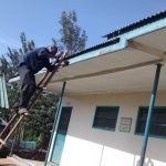 The Water Project: Ebusiratsi Special Primary School -  Gutter Installation
