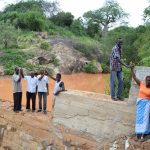 The Water Project: Karuli Community B -  Finished Sand Dam