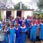 The Water Project: Maganyi Primary School -  Finished Latrines