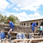 The Water Project: Kithaasyu Secondary School -  Tank Construction