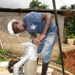 The Water Project: Rosint Community, 16 Gilbert Street -  Pump Installation