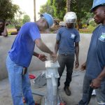 The Water Project: Tardie Community -  Pump Installation