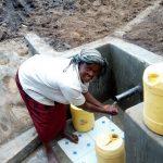 The Water Project: Shikoti Community, Amboka Spring -  Clean Water