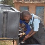 The Water Project: Kyanzasu Primary School -  Hand Washing