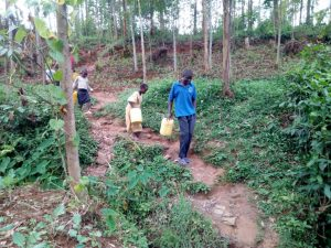 The Water Project:  Coming To Fetch Water