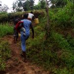 The Water Project: Ejinja Community -  Path To The Spring