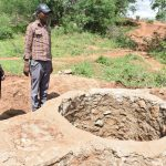 The Water Project: Karuli Community C -  Lining Progress