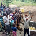 The Water Project: Shikoti Community, Amboka Spring -  Clean Water