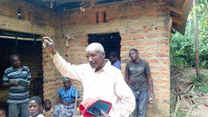 The Water Project:  Mr Pasiliano Amboka