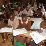 The Water Project: Mwanzo Primary School -  Students In Class