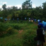 The Water Project: Eshisenye Girls' Secondary School -  Walking To The Spring