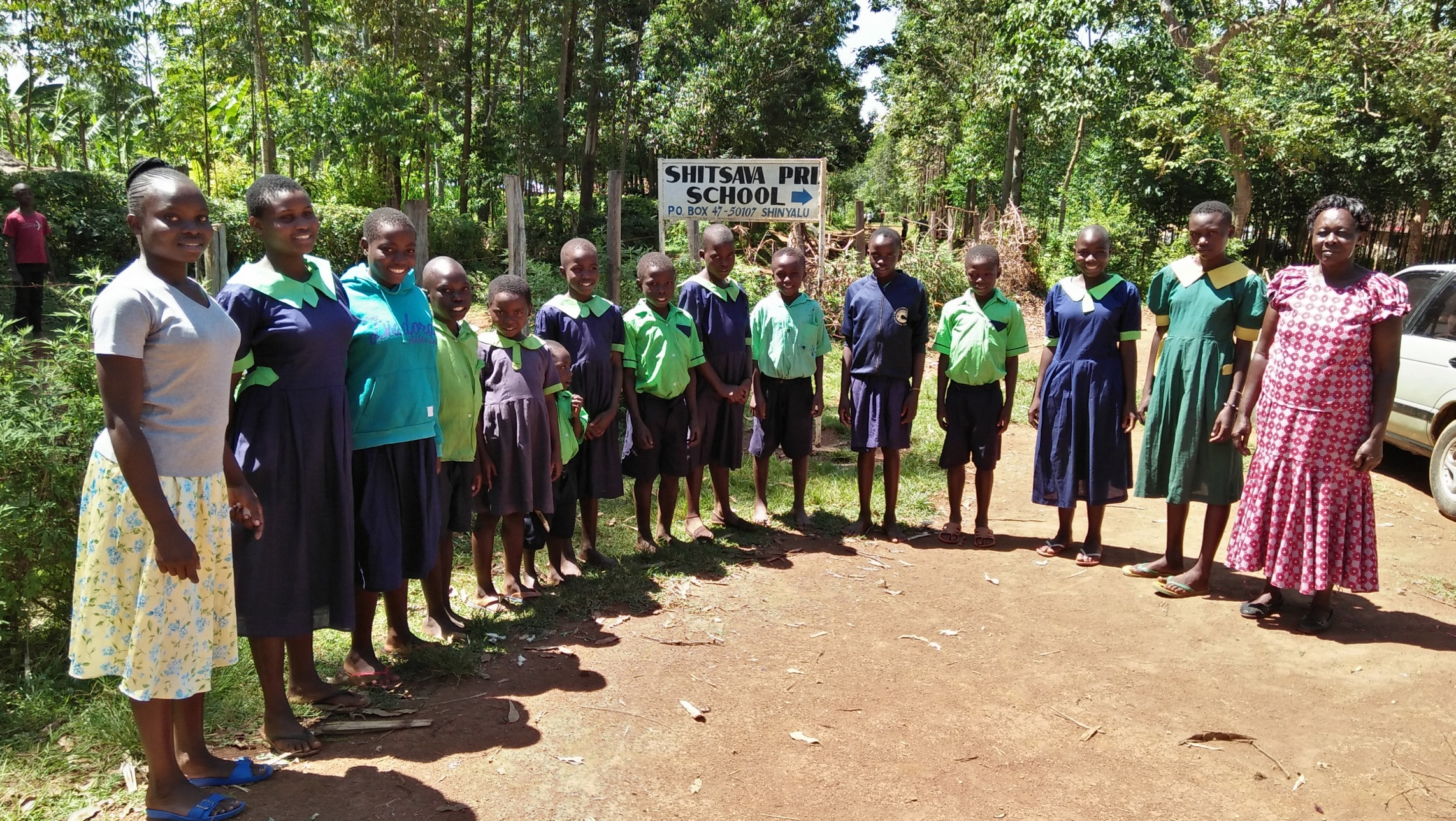 The Water Project : 4-kenya18039-students