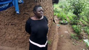 The Water Project:  Mrs Imbukwa