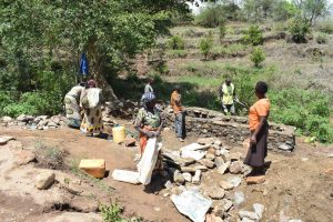 The Water Project:  Well Construction
