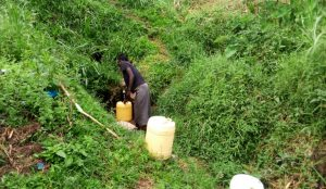 The Water Project:  Mary Fetching Water