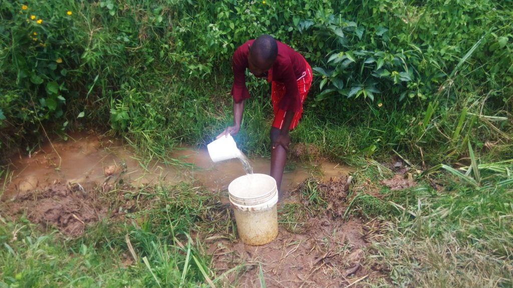The Water Project : 5-kenya18118-fetching-water