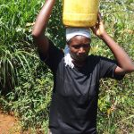 The Water Project: Sharambatsa Community, Mihako Spring -  Esther Luvale Karakacha