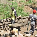 The Water Project: Kithumba Community A -  Well Construction