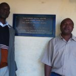 The Water Project: Mumias Complex Primary School -  Senior Teacher Douglas Awana And Deputy Headteacher Alusiola