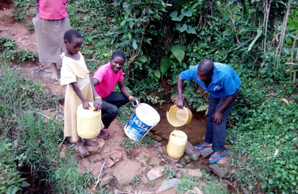The Water Project : 6-kenya18086-fetching-water