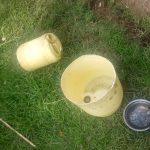The Water Project: Musango Community, Dawi Spring -  Water Containers