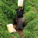 The Water Project: Ejinja Community -  Mary At The Spring