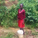 The Water Project: Ataku Community -  Fetching Water