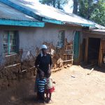 The Water Project: Sharambatsa Community, Mihako Spring -  Esther And Her Children