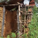The Water Project: Musango Community, Dawi Spring -  Latrine