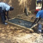 The Water Project: Shitoto Community A -  Sanitation Platform Construction