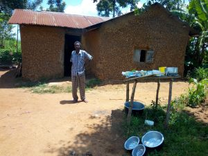 The Water Project:  Mr Francis Khamala