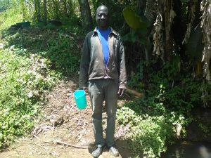 The Water Project:  Mr Abuneri Atswenje