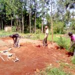 The Water Project: Mudete Primary School -  Latrine Construction
